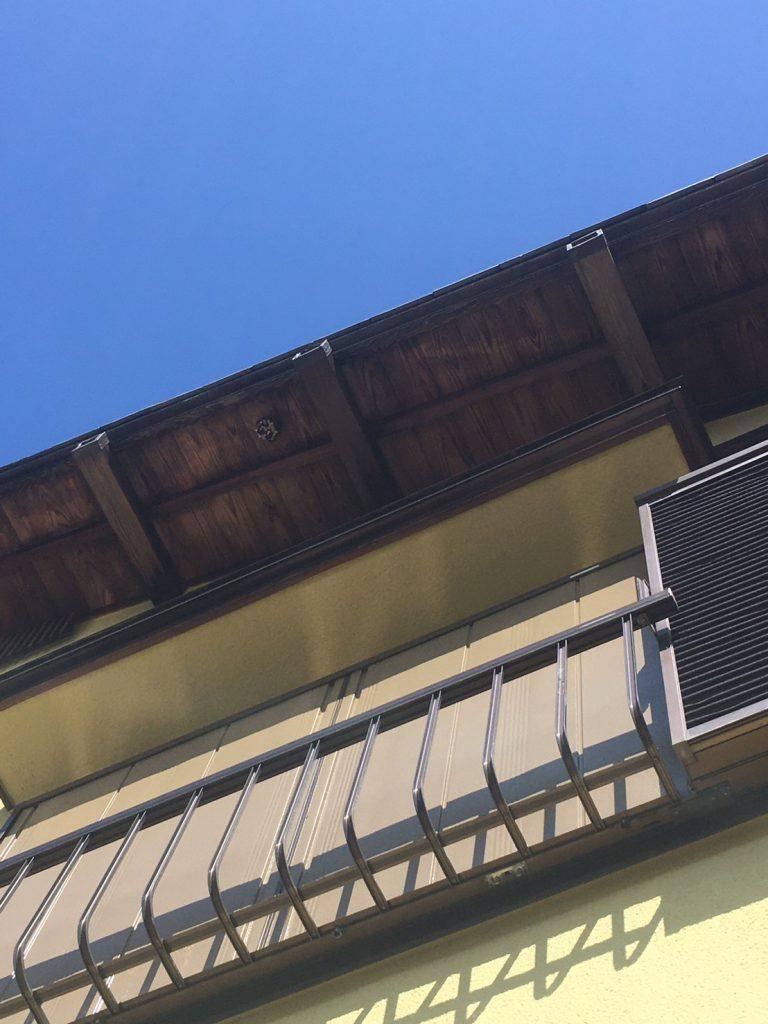 千葉県我孫子市湖北台の蜂の巣駆除現場